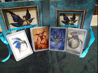 Amy Brown Faery Wisdom Cards Deck & Book Fairy Divination Box Set Oracle Tarot