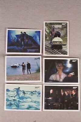 A VIEW TO A KILL 6-card Lot, 2,4,13,17,25,26 ARCHIVES FINAL EDITION 2017