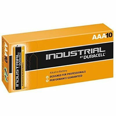10 X Duracell AAA Industrial Battery Alkaline Replaces Procell Very Long Life