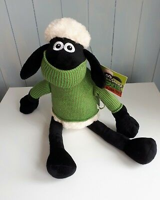 Rare - SHAUN THE SHEEP THE MOVIE PLUSH TOY new with tags