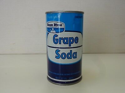 Green River Grape Soda Flat Top Can