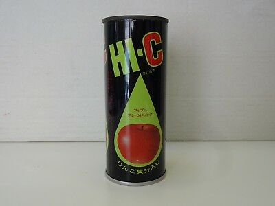 HI-C Apple Drink Can from Japan