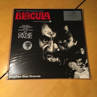 Blacula - Soundtrack Gene Page - Record Store Day RSD 2017 - Red Vinyl LP