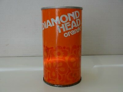 Diamond Head Orange Soda Can