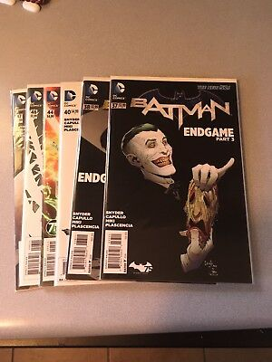 Batman New 52 1st Prints Lot DC 2012