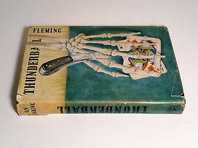 Thunderball IAN FLEMING 1ST EDITION UK 1961 Jonathan Cape James Bond HARDBACK DJ