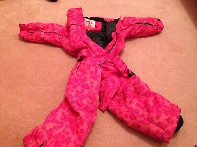 Girl's Snow Suit/ski Suit, Shredz Boardwear, Size 92 (rough Age 2-4)