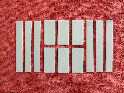 12 Vintage / Antique Piano Key Tops Great Condition Lot 3