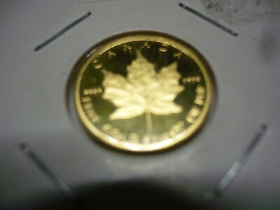 Kanada Maple Leaf 1/10 Oz Gold 1989 PP 3,11 Gramm Feingold