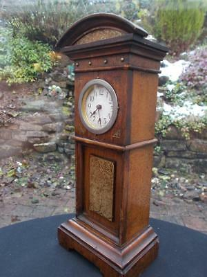 Miniature Irish Made  Apprentice Piece Grandfather Longcase Clock