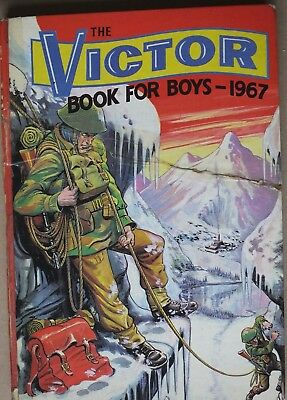 THE VICTOR BOOK for BOYS  Annual 1967 (DC Thomson & Co. 1966)