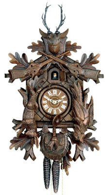 Herr Hunter Style Cuckoo Clock.. New!! (German/black Forest)