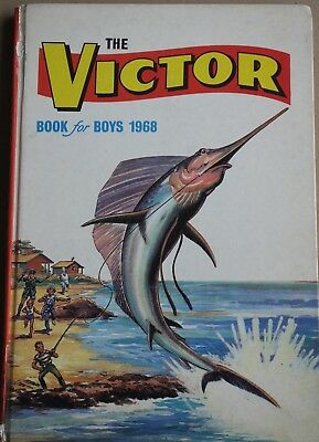 THE VICTOR BOOK FOR BOYS 1968 (D.C. Thomson & Co Ltd)