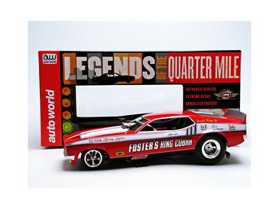 Auto World - 1/18 - Ford Mustang Funny Car - King Cobra 1972 - Aw1117