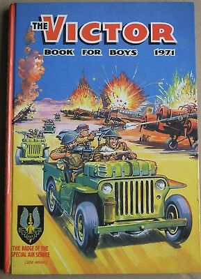 THE VICTOR BOOK FOR BOYS ANNUAL 1971 (D.C. Thomson & Co. Ltd 1970)
