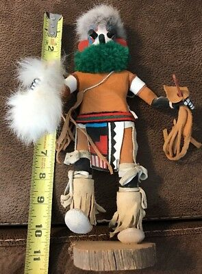Hopi Kachina Doll Native American Vintage Artwork