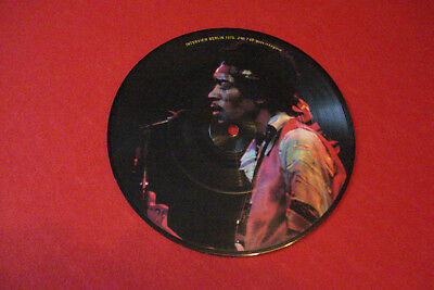 Vinyl Picture Single 7' -45 Jimi Hendrix - Interview Berlin 1970  RAR !