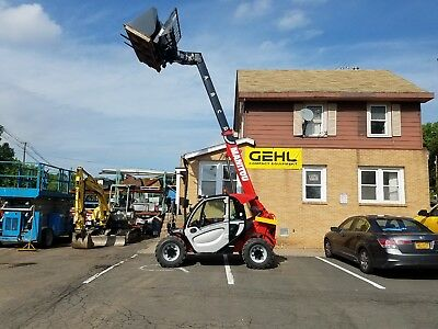 Telehandler Manitou MT625 with Forks and Bucket