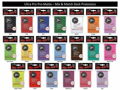 Ultra Pro Pro-Matte ( 50 ct ) Standard Size Sleeves Card Deck Protectors MTG