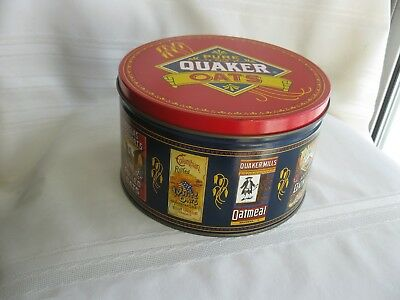 Quaker Oatmeal, Limited Edition Tin