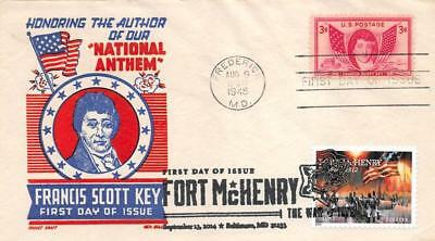 4921 (49c) War of 1812: Fort McHenry, First Day Cover Cachet dual [D280295]