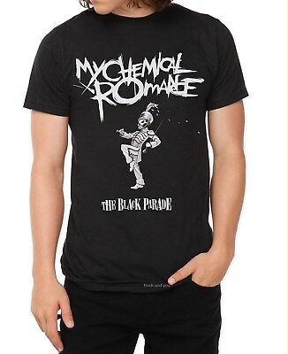 My Chemical Romance T-Shirt Black Parade emo rock Official L Last NWT