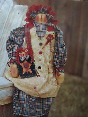 ** PAMMY PAIGE **   Cloth Doll Pattern....by Meme's Quilts