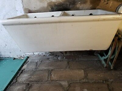 Vintage  Farmhouse Cast iron Kitchen Sink