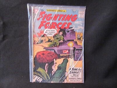 DC Comics Our Fighting Forced Issue 57 Oct 1960  Very Good Condition