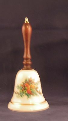 Vintage Avon Collectibles 1985 Porcelain Christmas Bell