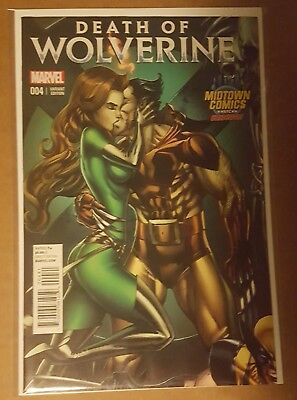 Death Of The Wolverine #4 Variant J Scott Campbell