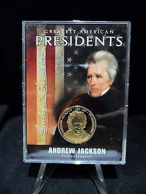 Mint Greatest American Presidents Andrew Jackson  24k Gold Plated Proof Coin