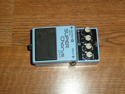 Vintage Boss Super Chorus CH-1 guitar effects pedal