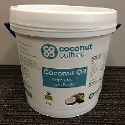 Equitec Essentials Organic Virgin Coconut Oil 4L Bulk Savings!
