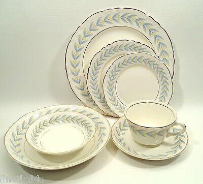 APOLLO by W S George Radisson China Complete 7 Pc Place Setting(s)