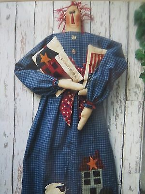 ** SALTBOX ANNIE **   Cloth Doll Pattern..by You Are Special