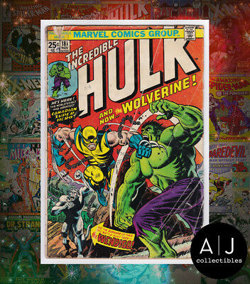 The Incredible Hulk #181 (I Marvel M) GD! HIGH RES SCANS! MVS CUT OUT!