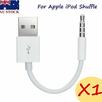 NEW USB Charger Data 15cm SYNC Cable for iPod Shuffle 1st 2nd 3rd 4th 5th Gen WO