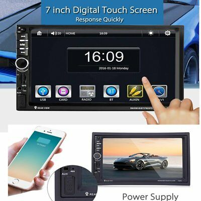 7020G Car Audio Stereo MP5 Player with Rearview Camera 7 inch Touch Screen KOA W