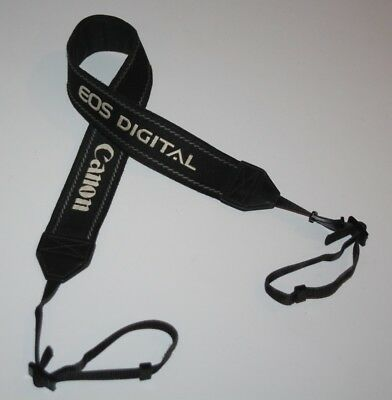 Canon EOS Digital - Genuine Black Camera Neck Strap
