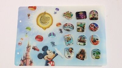 13 coole Walt Disney Pins Pin´s mit Gold Mickey Pin doré gouden Carrefour