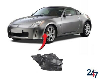 New Nissan 350Z 2003 - 2005 Front Wheel Arch Trim Cover Plastic Left N/S