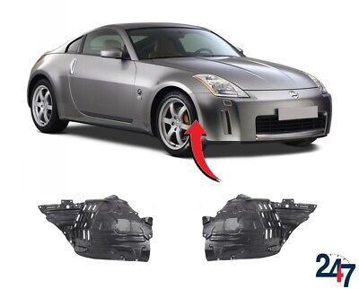 New Nissan 350Z 2003 - 2005 Front Wheel Arch Trim Cover Plastic Pair Right Left