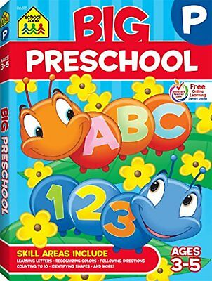 Big Preschool Workbook-Educational Game For Kids,Children,Students,Learn Home