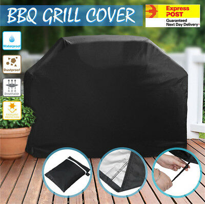 BBQ Grill Cover 4 Burner Waterproof Outdoor UV Gas Charcoal Barbecue Protector