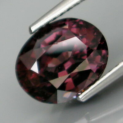 3.54Ct.Ravishing Color&Full Fire! Natural BIG Purple Spinel MaeSai,Thailand