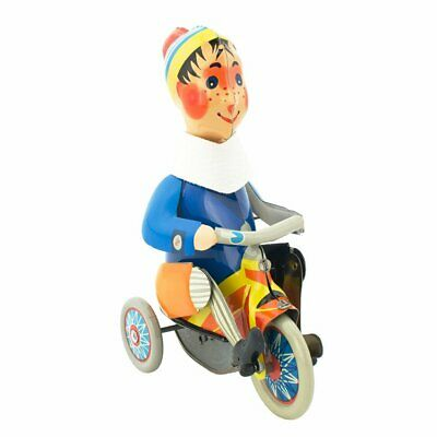 NEW CHILDRENS Wind Up Boy On Tricycle - Filip