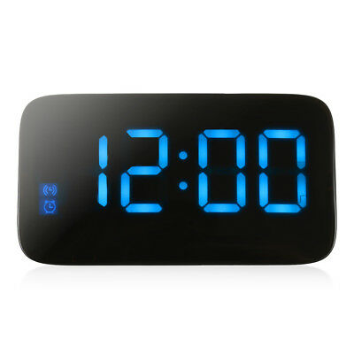 JUNJIADA JK - 015 LED Digital Alarm Clock Voice Control Time Display Home Office