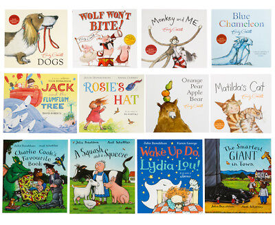 NEW The Julia Donaldson & Emily Gravett Picture 12-Book Collection FREE SHIPPING