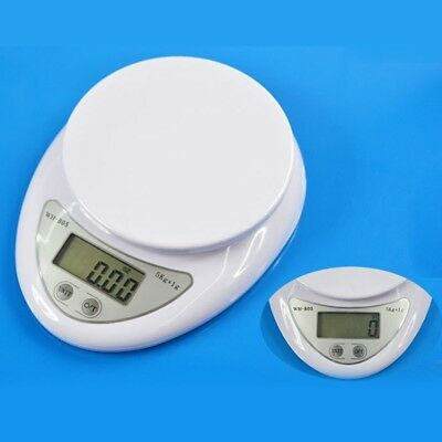 5Kg x1g Digital LCD Kitchen Scale Food Diet Weight Electronic Balance